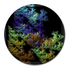 Fractal Forest Round Mousepads
