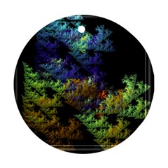 Fractal Forest Ornament (round)
