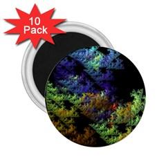 Fractal Forest 2 25  Magnets (10 Pack)