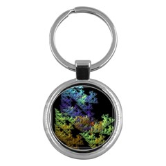 Fractal Forest Key Chains (Round)