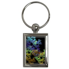 Fractal Forest Key Chains (rectangle)