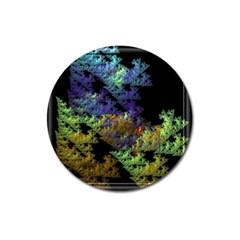 Fractal Forest Magnet 3  (Round)