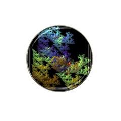 Fractal Forest Hat Clip Ball Marker
