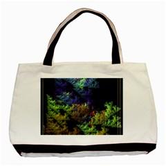 Fractal Forest Basic Tote Bag