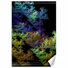 Fractal Forest Canvas 20  x 30