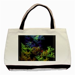 Fractal Forest Basic Tote Bag (two Sides)