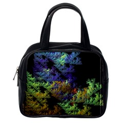 Fractal Forest Classic Handbags (One Side)