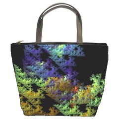 Fractal Forest Bucket Bags