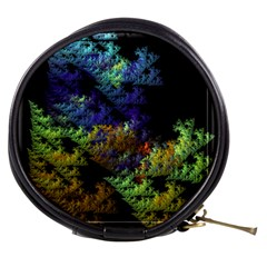 Fractal Forest Mini Makeup Bags