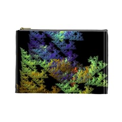 Fractal Forest Cosmetic Bag (large)