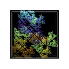 Fractal Forest Acrylic Tangram Puzzle (4  X 4 )