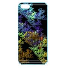 Fractal Forest Apple Seamless iPhone 5 Case (Color)