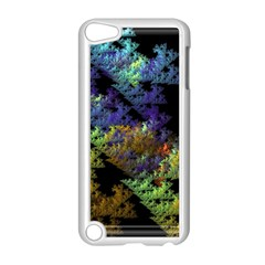 Fractal Forest Apple iPod Touch 5 Case (White)