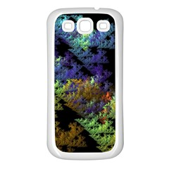 Fractal Forest Samsung Galaxy S3 Back Case (White)