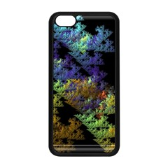Fractal Forest Apple iPhone 5C Seamless Case (Black)