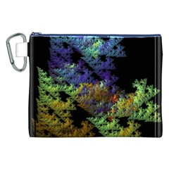 Fractal Forest Canvas Cosmetic Bag (XXL)