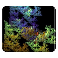 Fractal Forest Double Sided Flano Blanket (Small)