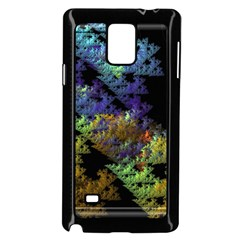 Fractal Forest Samsung Galaxy Note 4 Case (black)