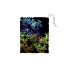 Fractal Forest Drawstring Pouches (XS)