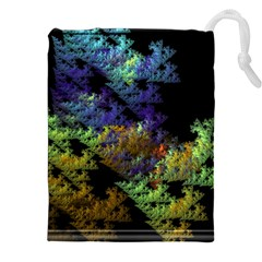 Fractal Forest Drawstring Pouches (XXL)