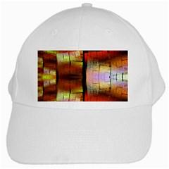 Fractal Tiles White Cap