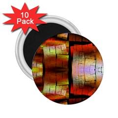Fractal Tiles 2 25  Magnets (10 Pack)