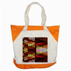 Fractal Tiles Accent Tote Bag