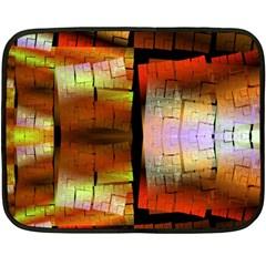 Fractal Tiles Fleece Blanket (mini)