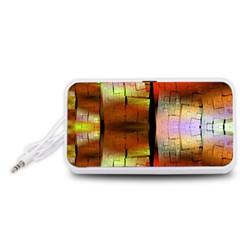 Fractal Tiles Portable Speaker (White)