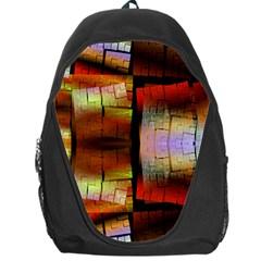 Fractal Tiles Backpack Bag