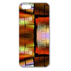 Fractal Tiles Apple Seamless iPhone 5 Case (Clear)