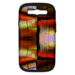 Fractal Tiles Samsung Galaxy S Iii Hardshell Case (pc+silicone)