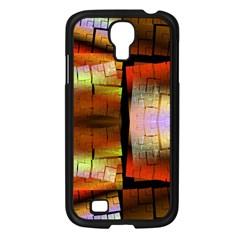 Fractal Tiles Samsung Galaxy S4 I9500/ I9505 Case (Black)