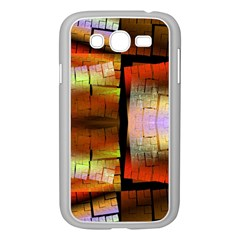 Fractal Tiles Samsung Galaxy Grand Duos I9082 Case (white)