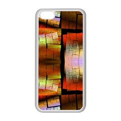 Fractal Tiles Apple iPhone 5C Seamless Case (White)