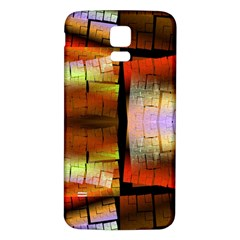 Fractal Tiles Samsung Galaxy S5 Back Case (White)