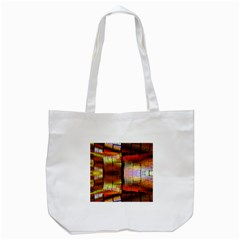 Fractal Tiles Tote Bag (White)