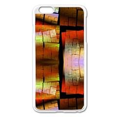 Fractal Tiles Apple iPhone 6 Plus/6S Plus Enamel White Case