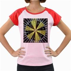 Fractal Ball Women s Cap Sleeve T Shirt