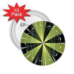 Fractal Ball 2 25  Buttons (10 Pack)
