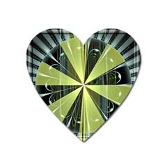 Fractal Ball Heart Magnet