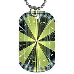 Fractal Ball Dog Tag (One Side)