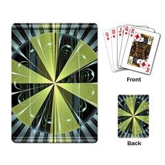 Fractal Ball Playing Card