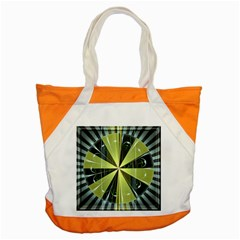 Fractal Ball Accent Tote Bag