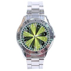 Fractal Ball Stainless Steel Analogue Watch