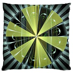 Fractal Ball Large Cushion Case (Two Sides)