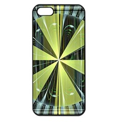 Fractal Ball Apple iPhone 5 Seamless Case (Black)