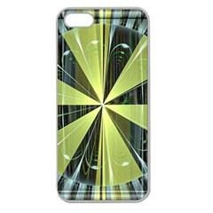 Fractal Ball Apple Seamless iPhone 5 Case (Clear)