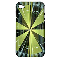 Fractal Ball Apple iPhone 4/4S Hardshell Case (PC+Silicone)