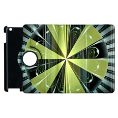 Fractal Ball Apple iPad 3/4 Flip 360 Case